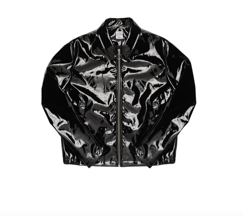 Eytys HM Collab Black PVC Jacket