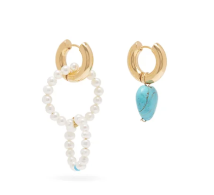 Timeless Pearly Earrings