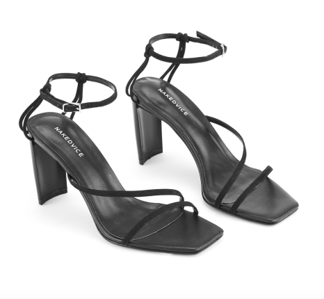 NAked Vice Strappy Sandals